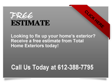 Total Home Exteriors Free Estimate MN